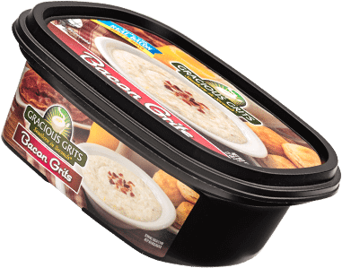 Gracious Grits bacon grits container by Tech 2