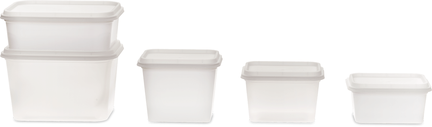 Rectangle Family containers